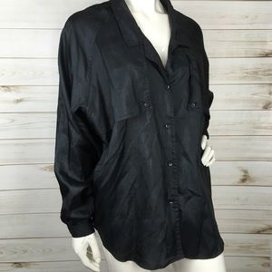 DVF VTG Button Down Blouse